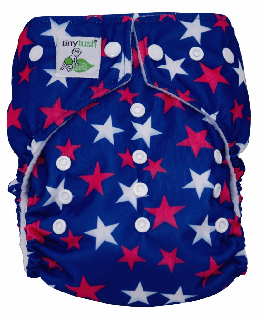 Star Spangled Snap Elite One Size Pocket Diaper