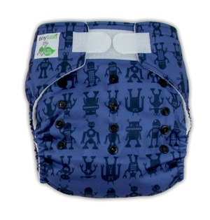 Elite One Size Pocket Diaper Bots Aplix