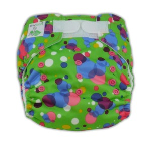 Tiny Tush Bubbles Aplix Elite One Size Pocket Diaper