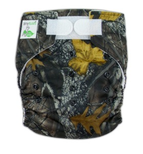 Tiny Tush Elite One Size Pocket Diaper Camo Aplix