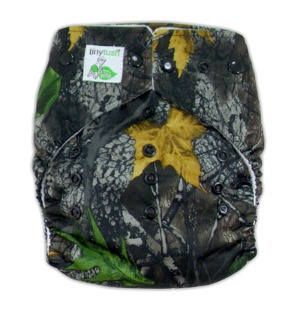 Tiny Tush Elite One Size Pocket Diaper Camo Snap
