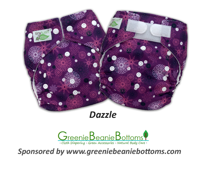 New Elite 2.0 One Size Pocket Diaper Print - Dazzle