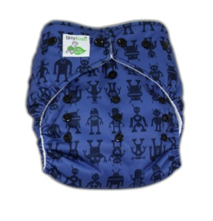 Elite One Size Pocket Diaper Bots Snap