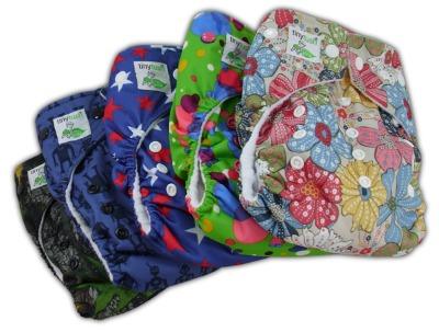 Tiny Tush Elite One Size Pocket Diaper Prints