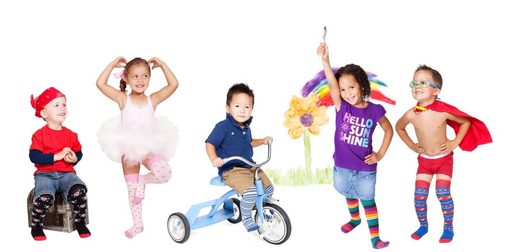 Rock-a-Thigh Baby Socks Giveaway with 3 WINNERS who each get 1 pair of RTB socks!